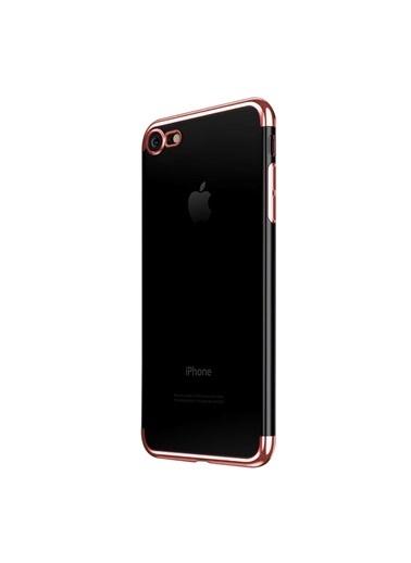 Microsonic iPhone 7 Kılıf Skyfall Transparent Clear  Renkli